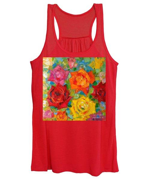 Mon Amour La Rose Women's Tank Top