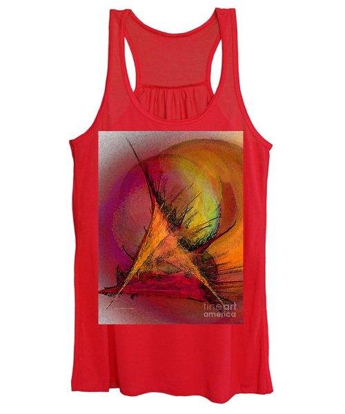 Moonstruck-abstract Art Women's Tank Top