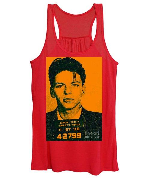 Mugshot Frank Sinatra V1 Women's Tank Top