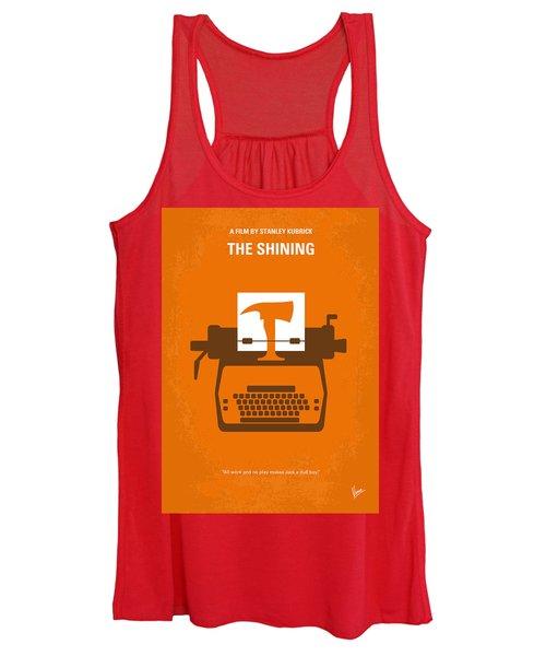 No094 My The Shining Minimal Movie Poster Women's Tank Top