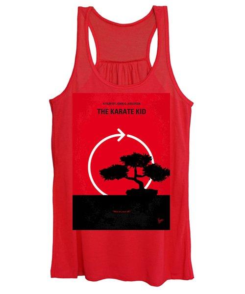No125 My Karate Kid Minimal Movie Poster Women's Tank Top