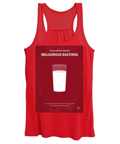 No138 My Inglourious Basterds Minimal Movie Poster Women's Tank Top