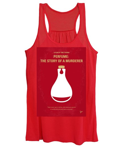 No194 My Perfume The Story Of A Murderer Minimal Movie Poster Women's Tank Top