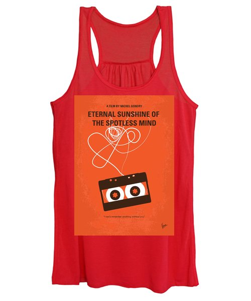 No384 My Eternal Sunshine Of The Spotless Mind Minimal Movie Pos Women's Tank Top