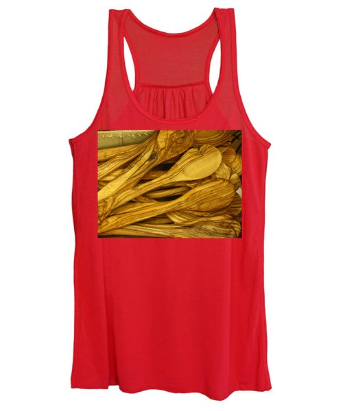 Olive Wood Women's Tank Top