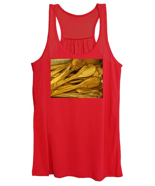 Women's Tank Top featuring the photograph Olive Wood by Rick Locke
