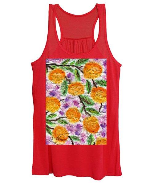 Orange Blossoms Women's Tank Top