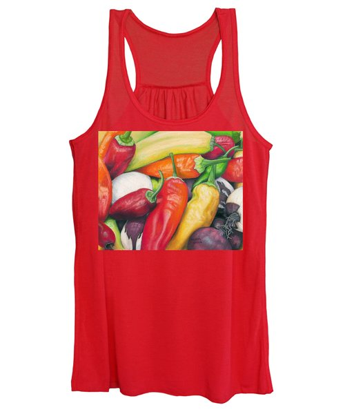 Peppers And Onions Women's Tank Top