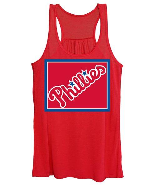 Philadelphia Phillies Baseball Women's Tank Top