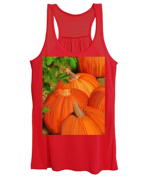 Pumpkins Pumpkins Everywhere Women's Tank Top