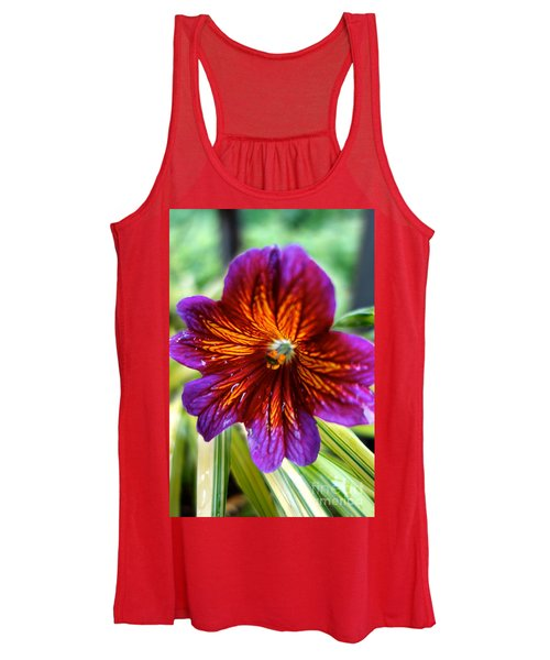 Purple And Orange Women's Tank Top