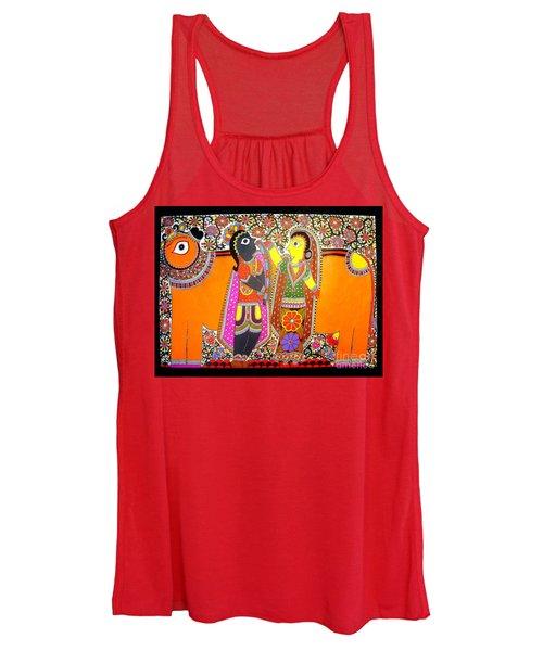 Radha And Krishna Women's Tank Top