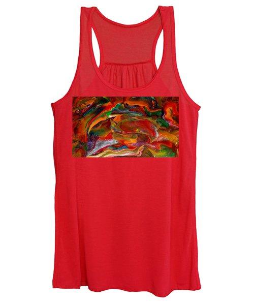 Rainbow Blossom Women's Tank Top