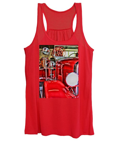Ready For The Ring By Diana Sainz Women's Tank Top