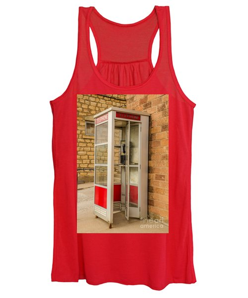 Before Cell Phones Women's Tank Top