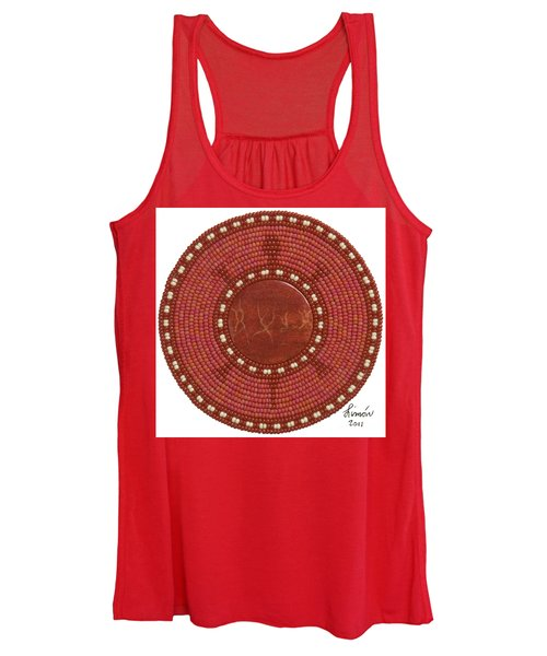 Red Coral Women's Tank Top