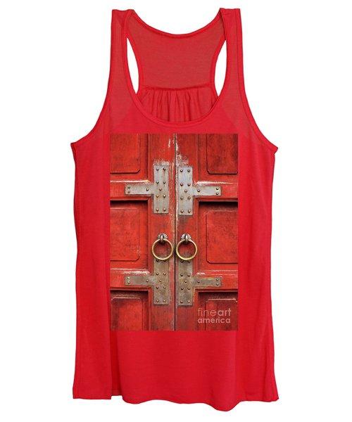 Red Doors 01 Women's Tank Top