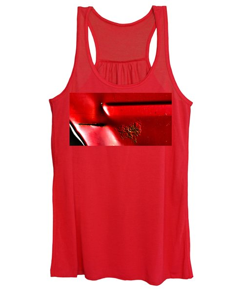 Red Gash Women's Tank Top