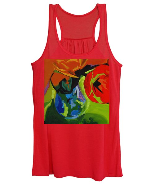 Red Tulip Women's Tank Top