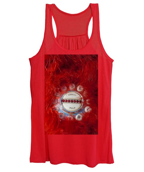 Red Phone For Emergencies Women's Tank Top