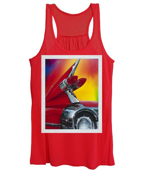 Reflections Of Yesterday Women's Tank Top