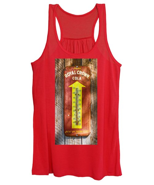 Royal Crown Barn Thermometer Women's Tank Top