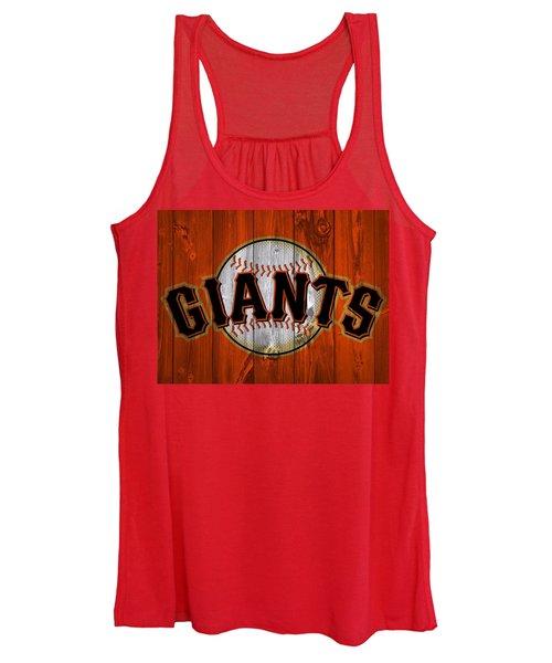San Francisco Giants Barn Door Women's Tank Top