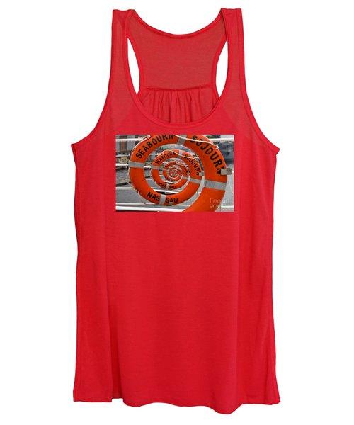 Seabourn Sojourn Spiral. Women's Tank Top