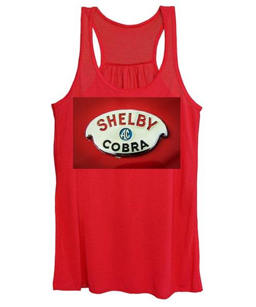 Shelby Ac Cobra Emblem -0282c Women's Tank Top