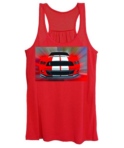 Shelby Gt 500  2013 Women's Tank Top