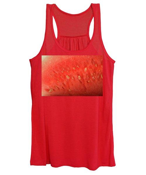 Slice Of Watermelon (detail) Women's Tank Top