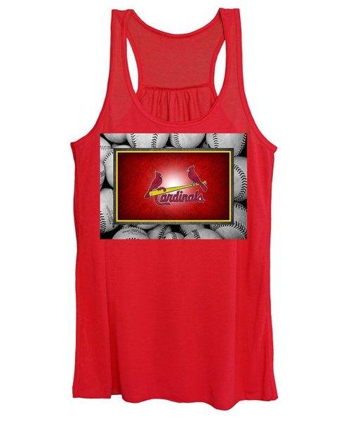 St Louis Cardinals Women's Tank Top