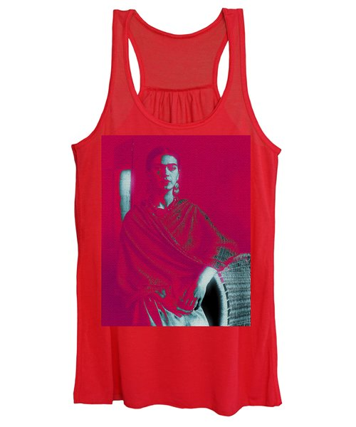 Strange Frida Women's Tank Top