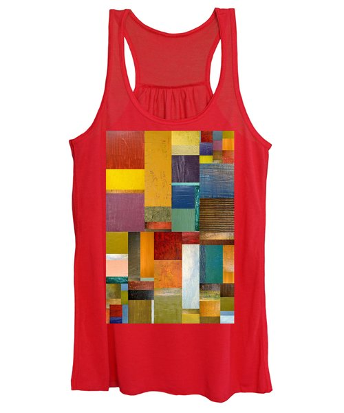 Strips And Pieces Ll Women's Tank Top