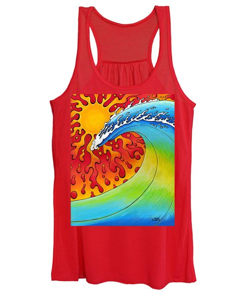 Sun And Surf Women's Tank Top