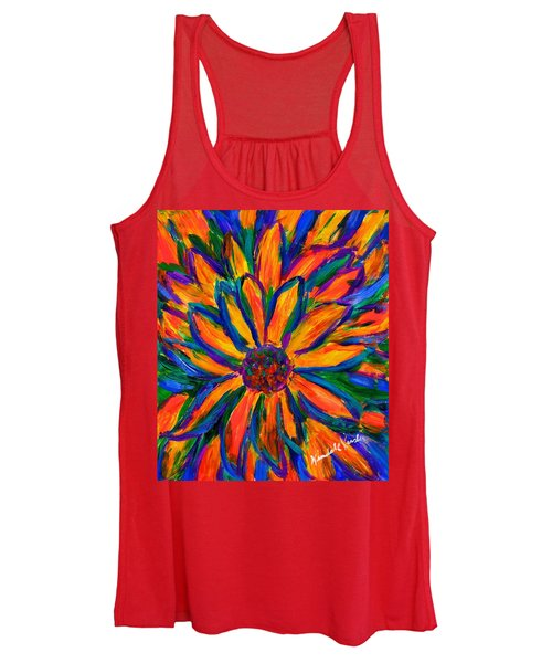 Sunflower Burst Women's Tank Top