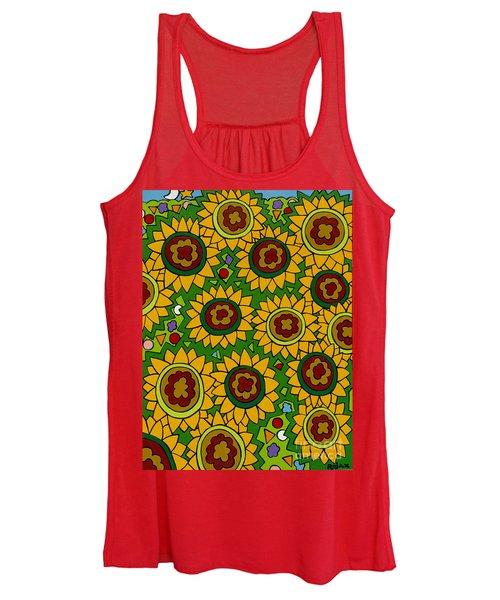 Sunflowers 2 Women's Tank Top