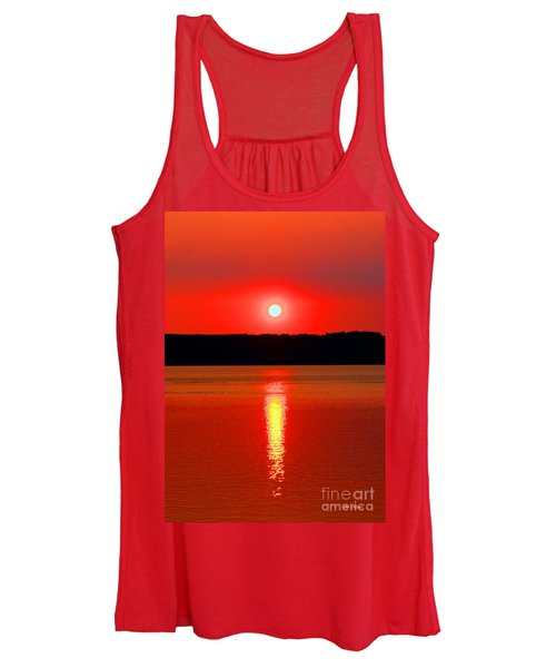 Sunrise Over Whidbey Island Women's Tank Top