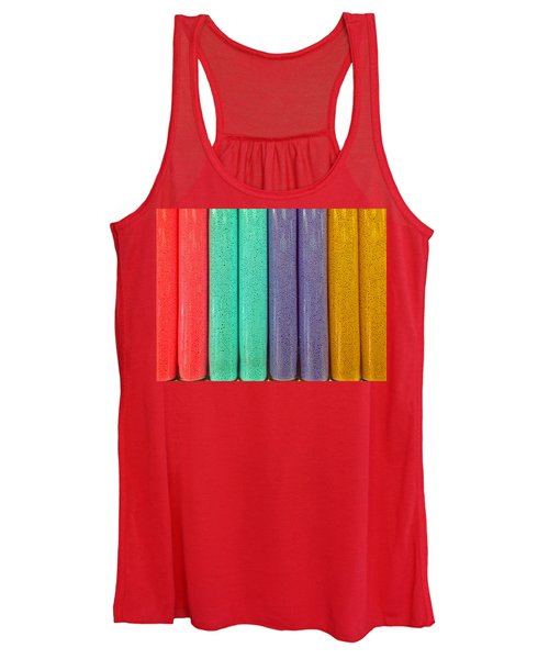 Women's Tank Top featuring the photograph Sweet Colors by Rick Locke