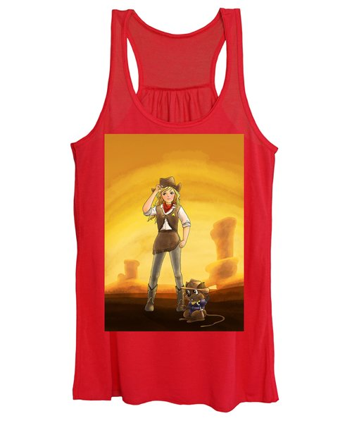 Tammy And Alfred Tame The West Women's Tank Top
