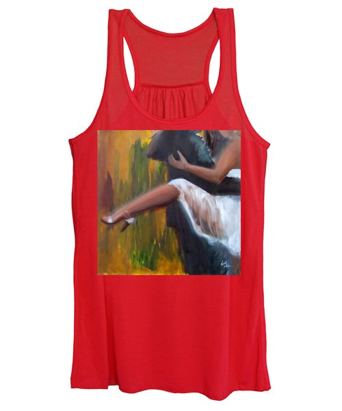 Tango On The Piazza Women's Tank Top