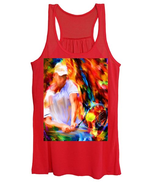 Tennis II Women's Tank Top
