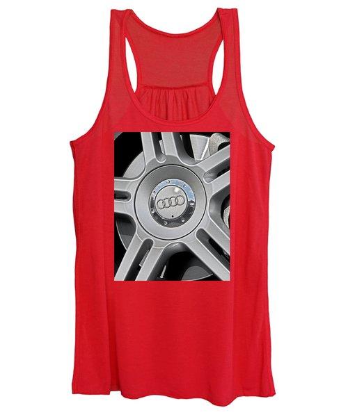 The Audi Wheel Women's Tank Top