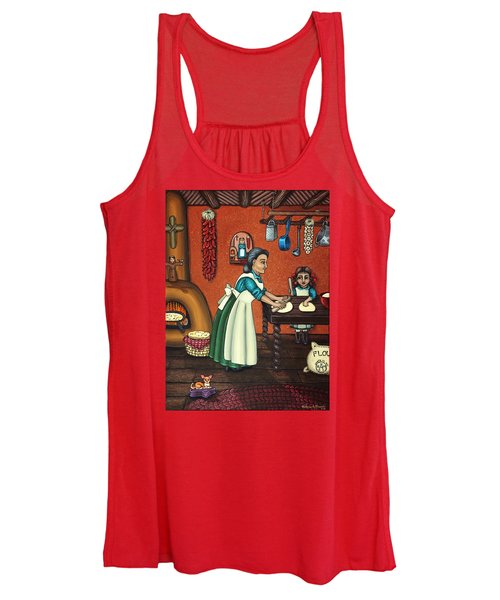 The Lesson Or Making Tortillas Women's Tank Top