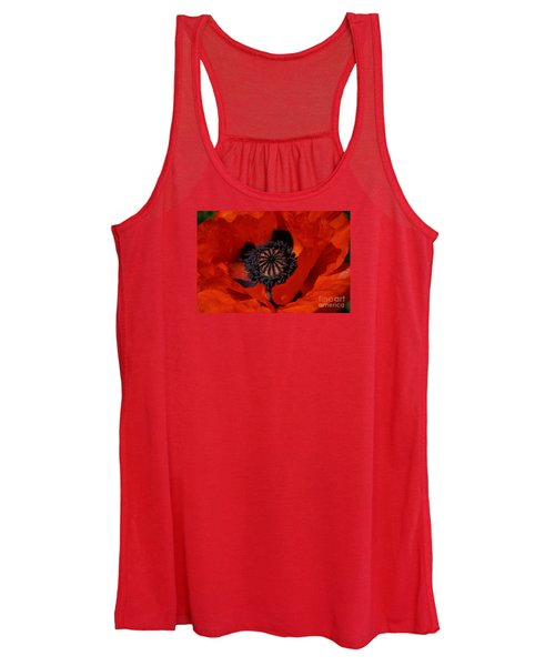 The Poppy Is Also A Flower Women's Tank Top