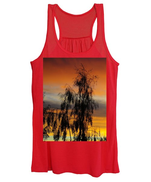 Trees In The Sunset Women's Tank Top