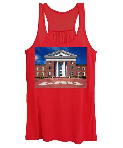 Trible Library Christopher Newport University Women's Tank Top