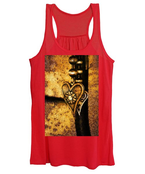 Two Hearts Together Women's Tank Top