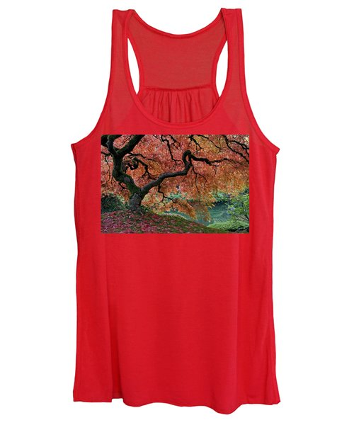 Under Fall's Cover Women's Tank Top