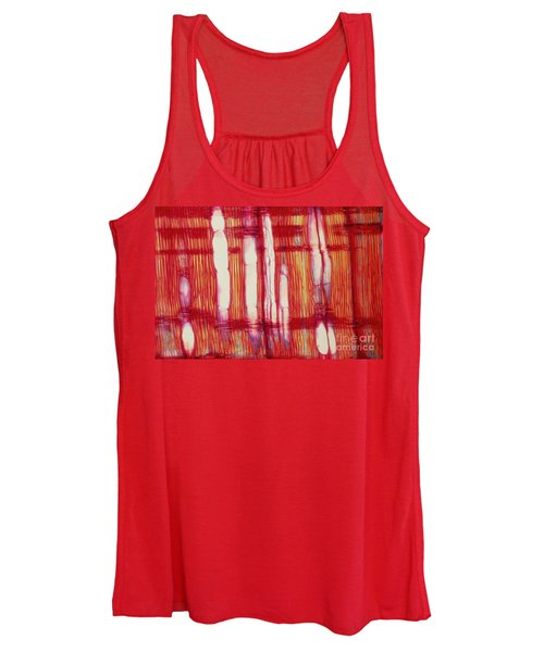 Vascular Rays And Vessel Elements Women's Tank Top